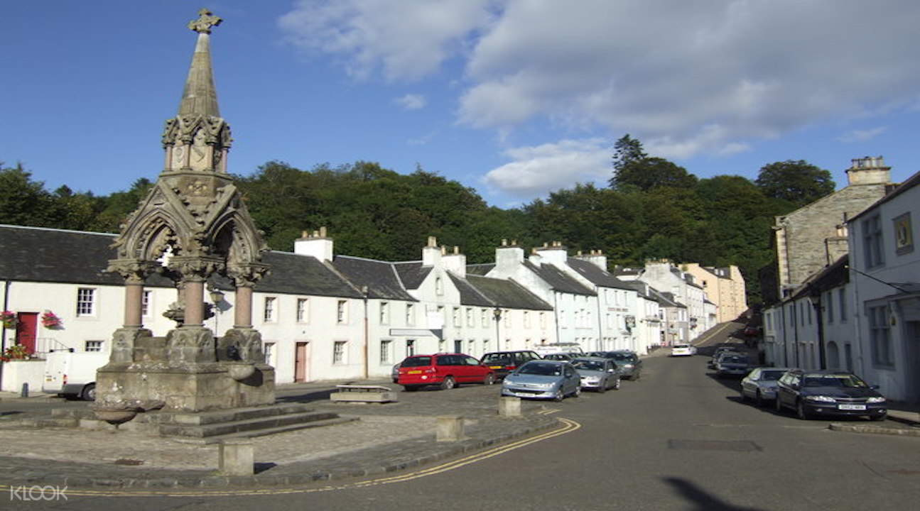 scottish highlands tour from edinburgh, scottish highlands day tour, scotland highland whisky tour, dunkeld scotland