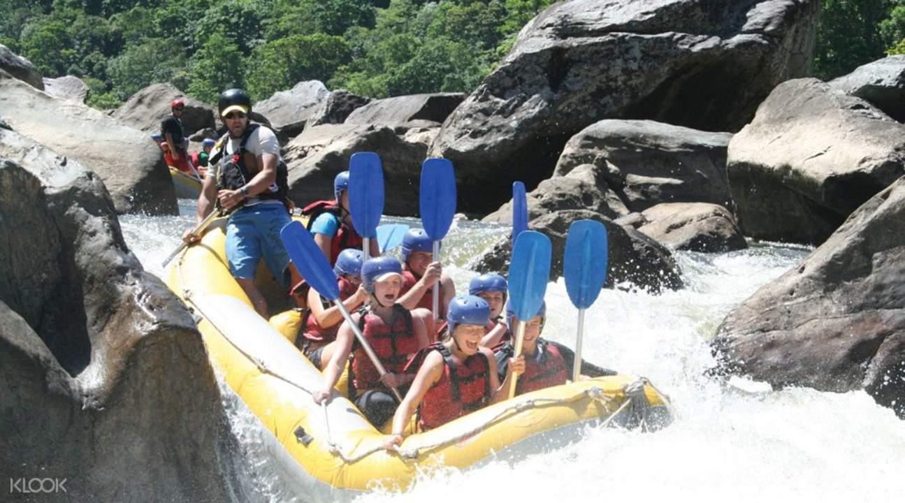 rafting in Cairns