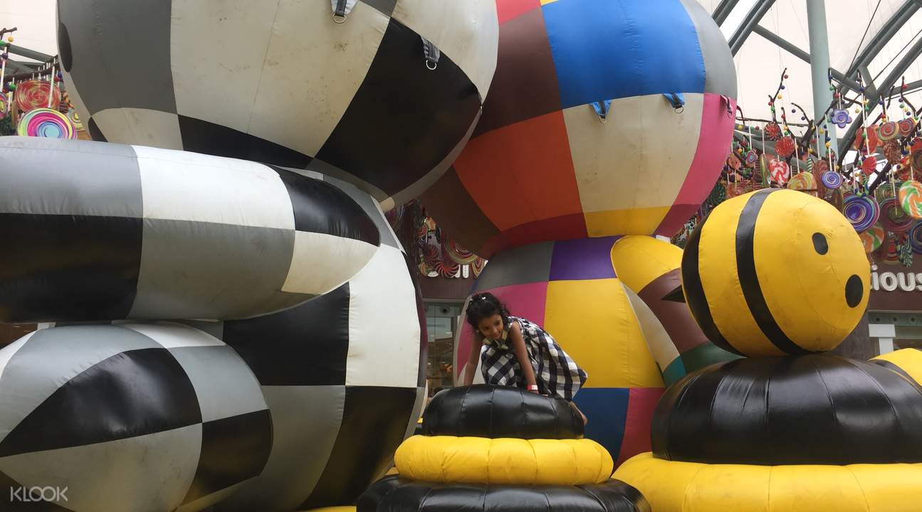 Resorts World Sentosa inflatable park
