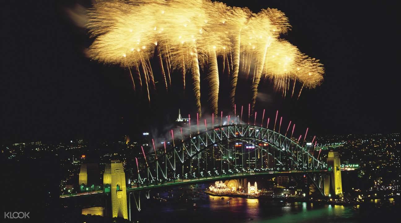 悉尼跨年烟花