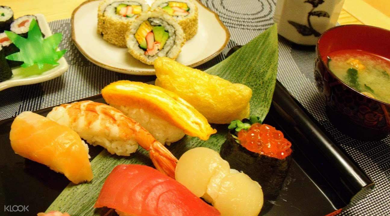 sushi cooking class shinjuku tokyo japan