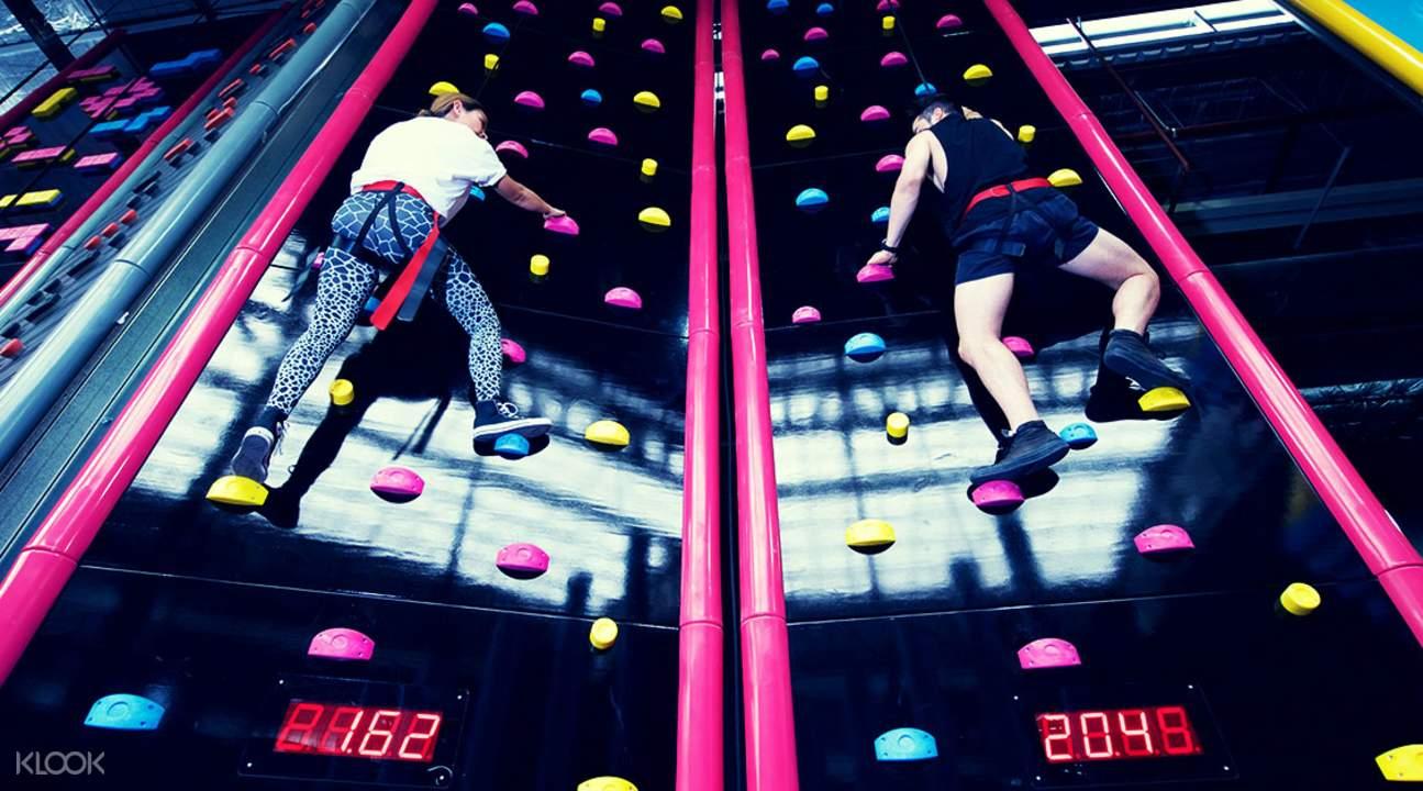 泰國曼谷Bounce室內蹦床樂園