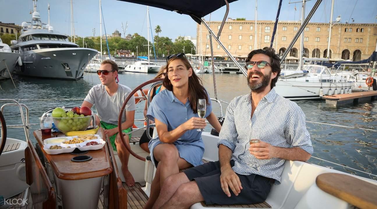 巴塞羅那遊船觀光,巴塞羅那帆船觀光,巴塞羅那帆船遊,巴塞羅那海上之旅,巴塞羅那地中海觀光