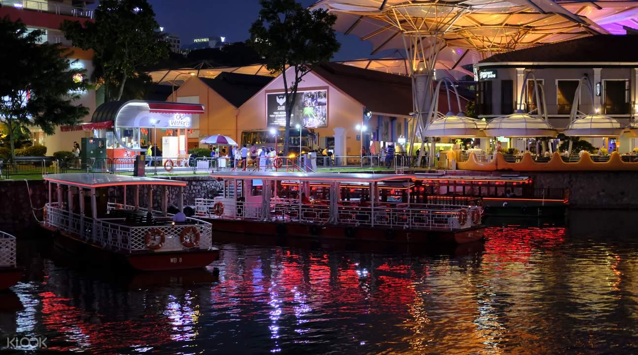 新加坡河巡遊之旅
