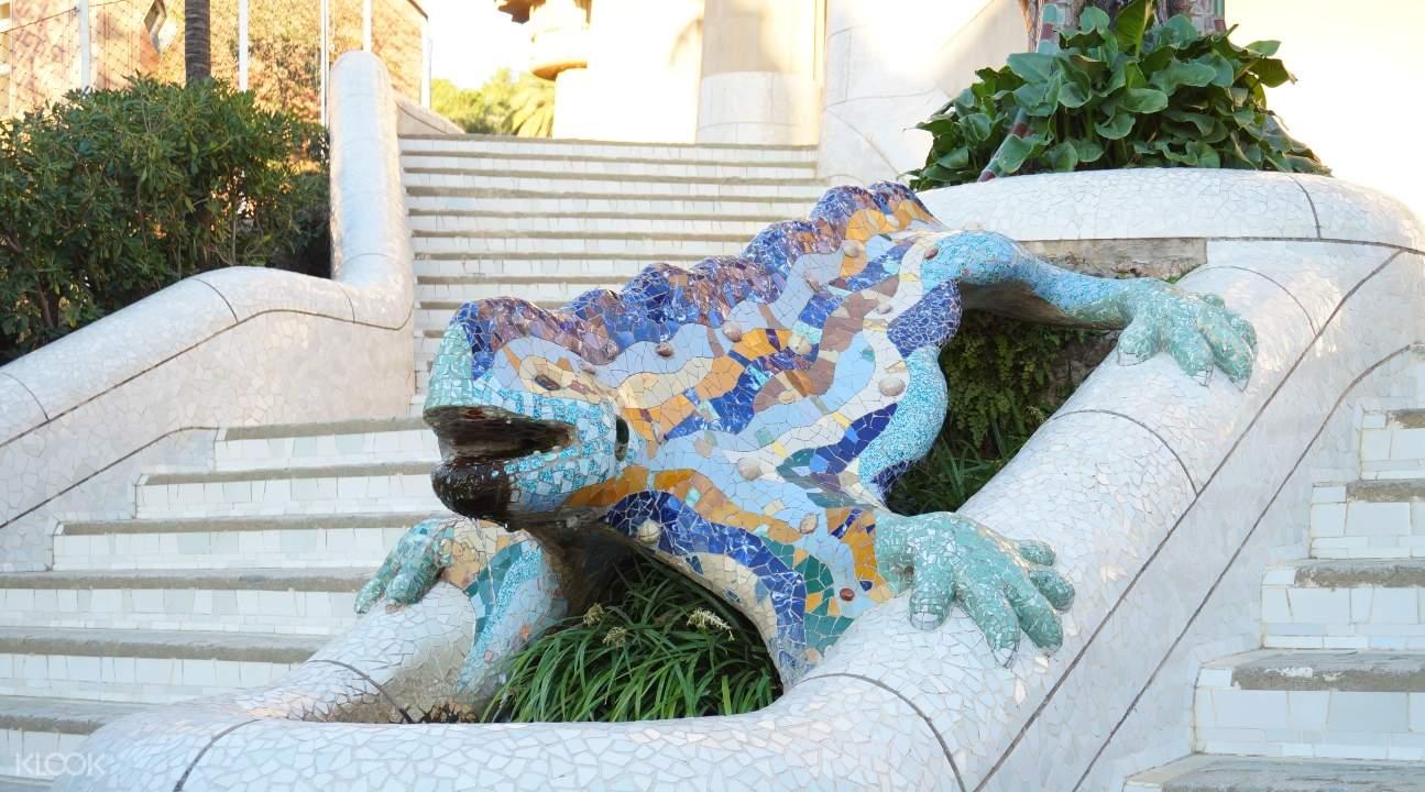 Park Güell's El Drac Salamander
