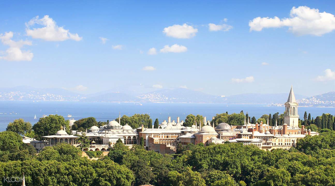 view of Topkapi Palace Museum