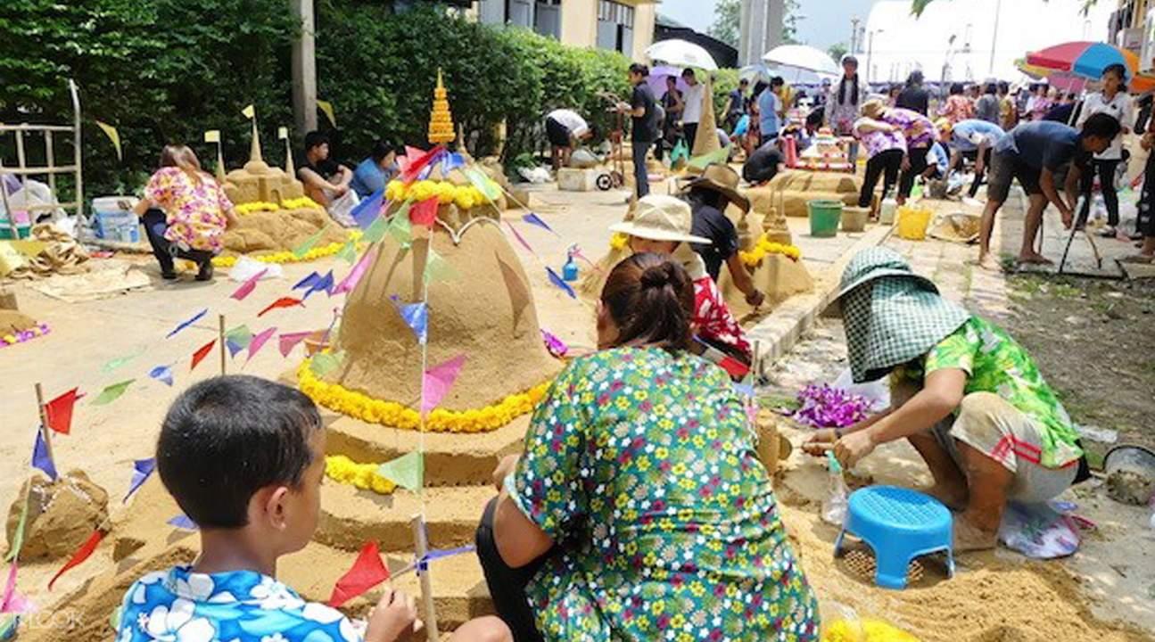 2018泰國宋干節,美功鐵道市場,安帕瓦水上集市螢火蟲之旅