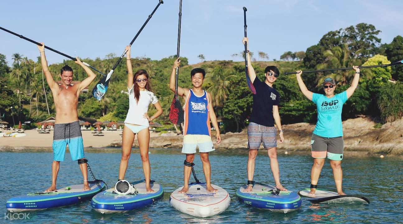 泰国  苏梅岛 SUP立桨冲浪体验(日出 / 日落之旅)