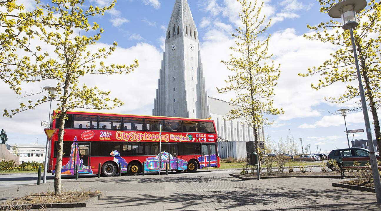 Hop On and Hop Off Bus in Reykjavík