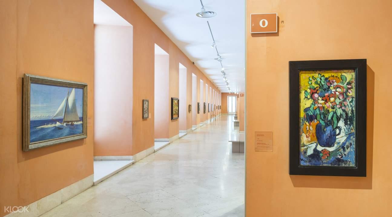 提森-博内米萨博物馆画作