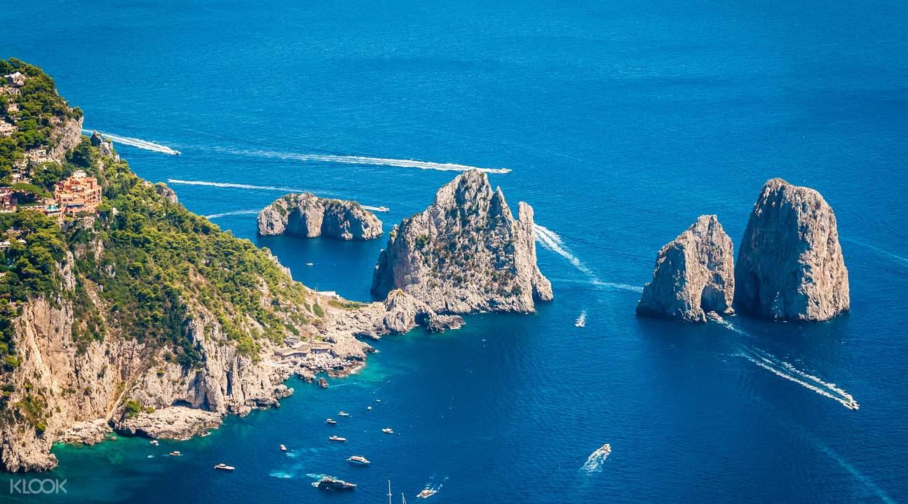 capri island mount solaro