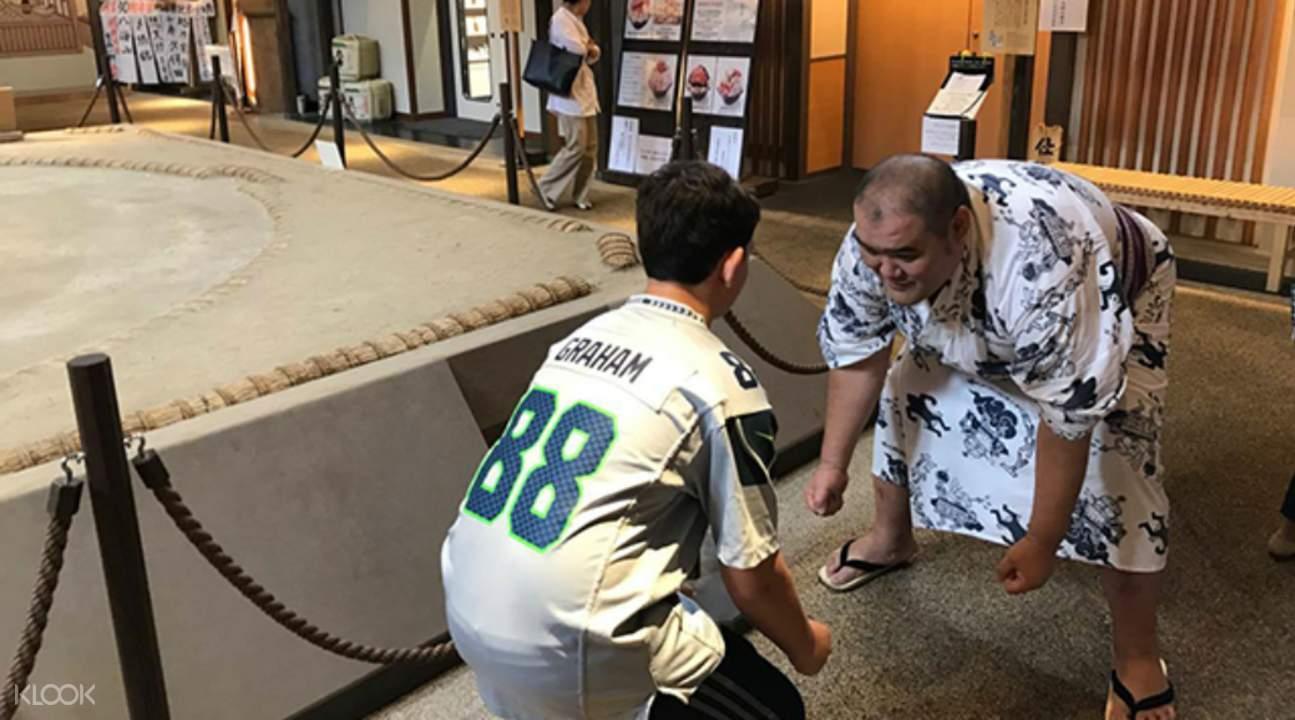 東京相撲漫遊
