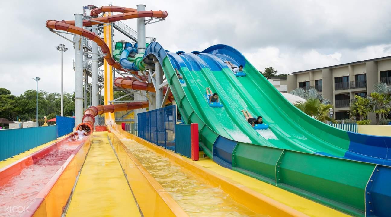 Wild Wild Wet Singapore thrilling ride
