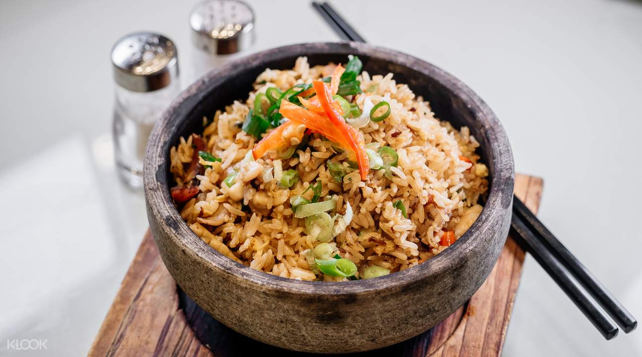 special stone cooked rice