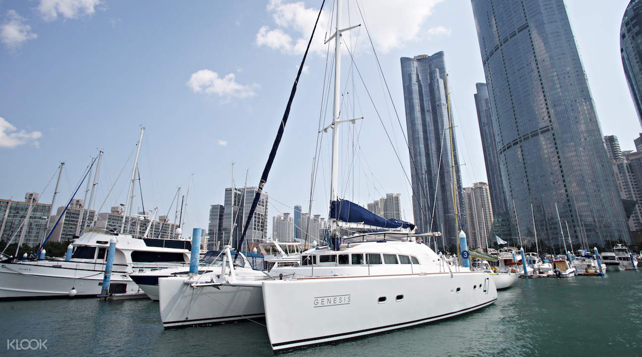busan public yacht tour ticket
