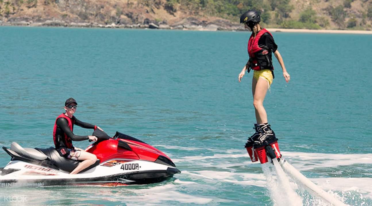 凯恩斯水上飞行器体验