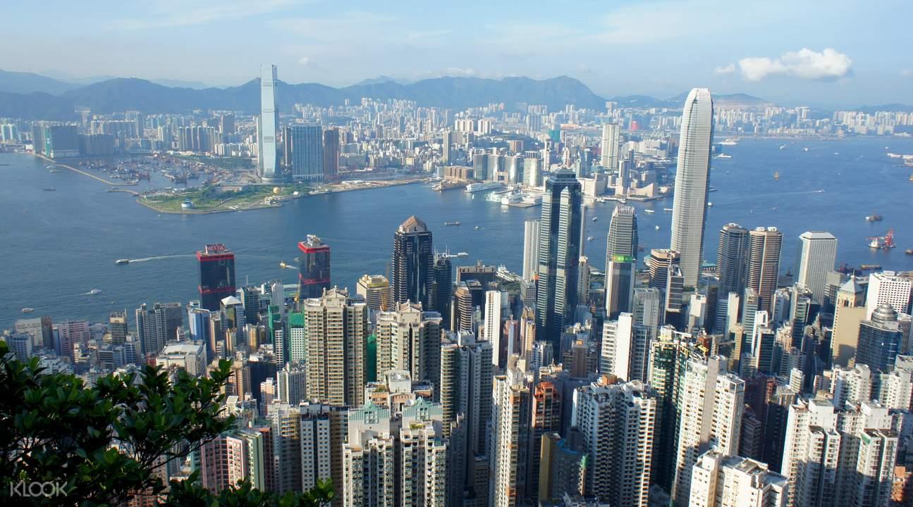 香港深度游 - 中环 & 太平山顶人文观光之旅