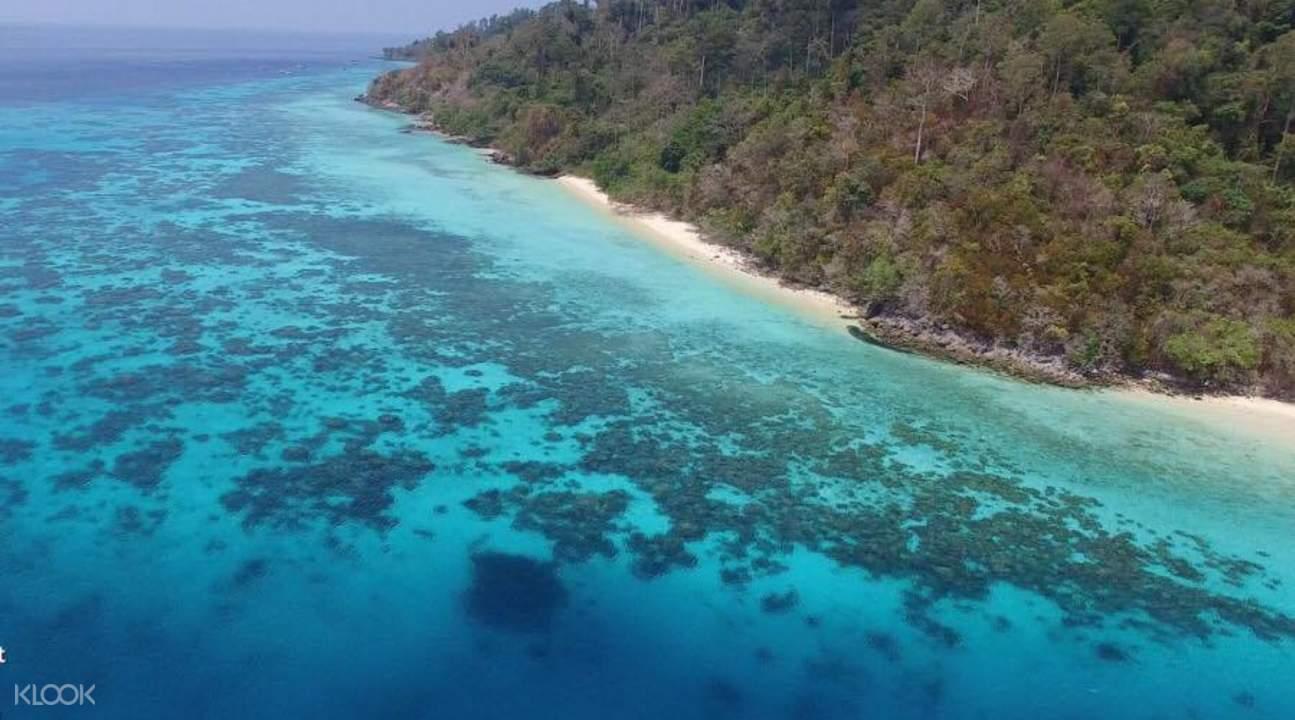 Koh Rok & Koh Haa岛一日游