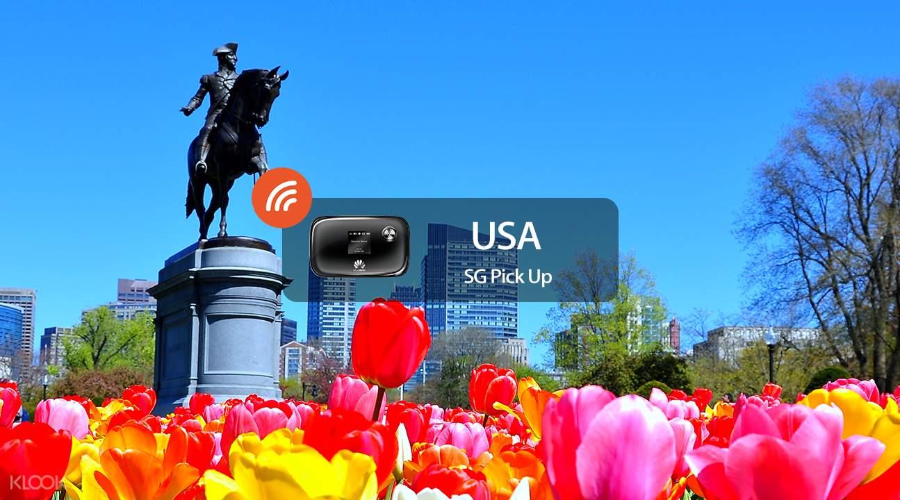 美国4g 随身wifi 新加坡领取