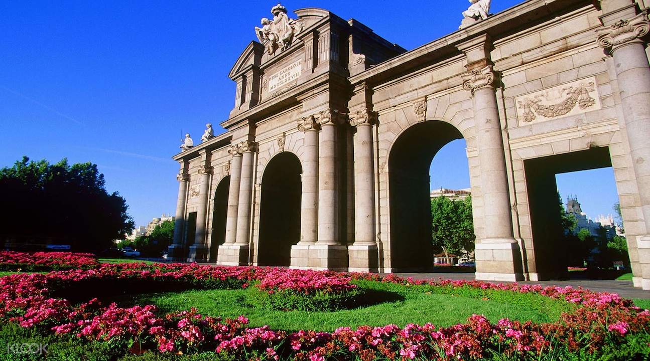 madrid highlights tour, toledo tour, madrid and toledo tours, puerta de alcala