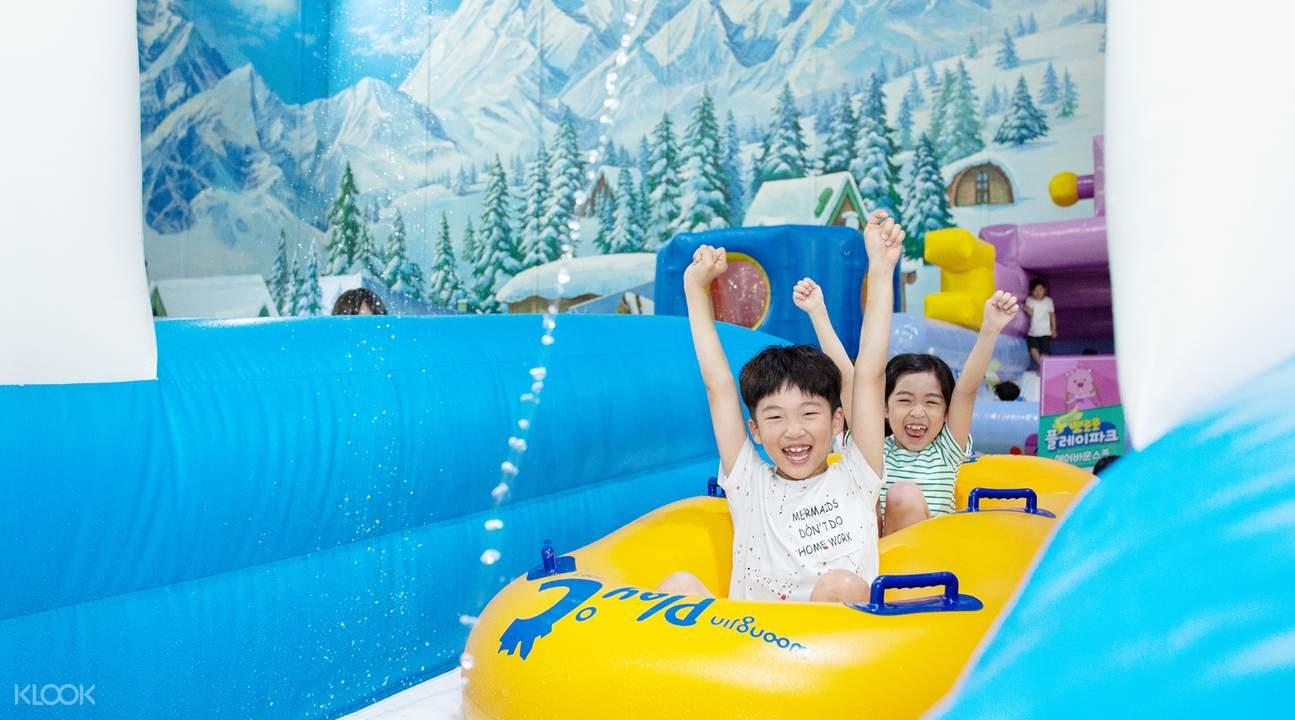 夏季滑道樂園