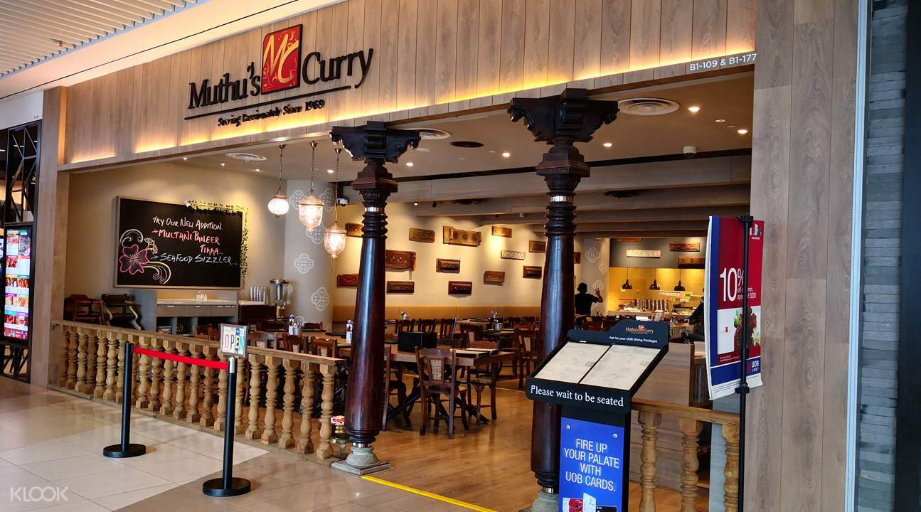 klook discount muthus curry suntec city singapore