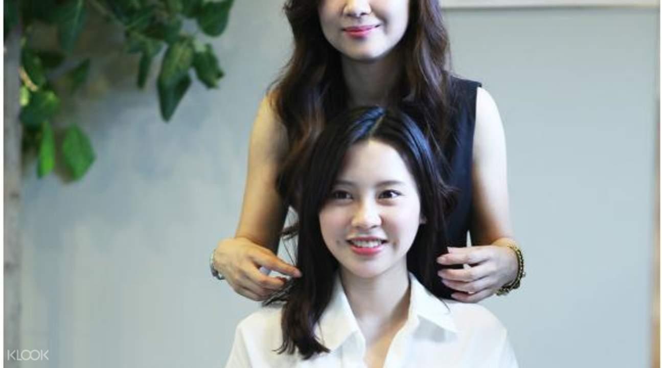 Korean hair spa