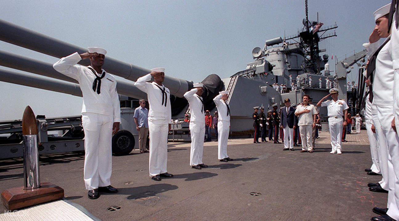 愛荷華號戰列艦門票