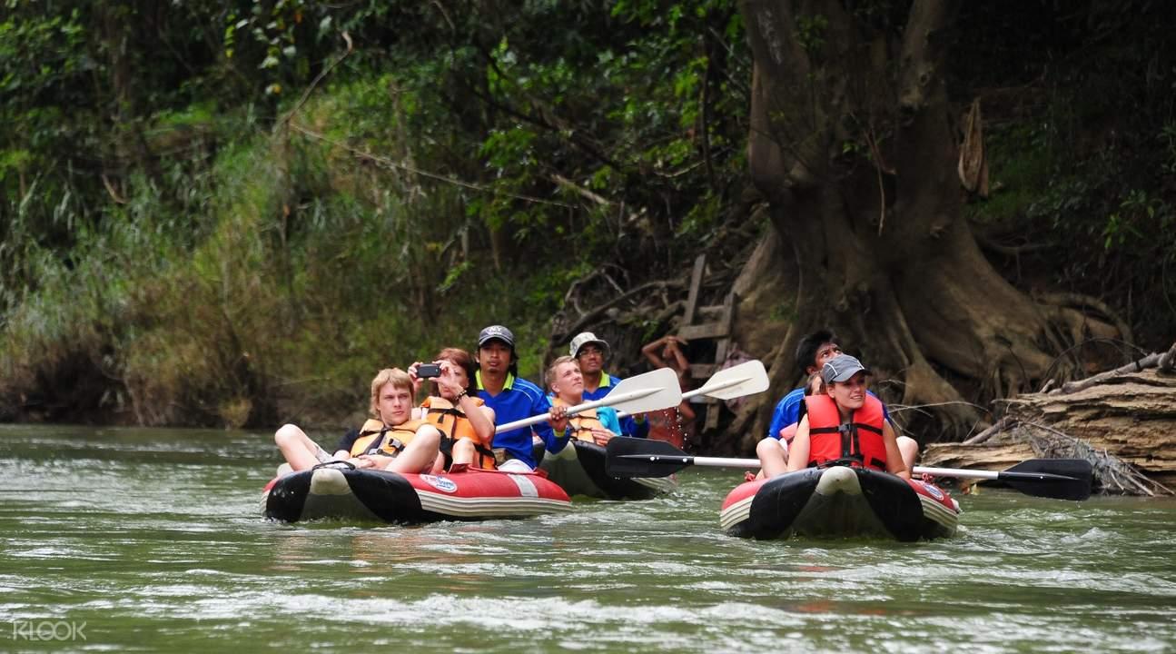 考索国家公园木筏