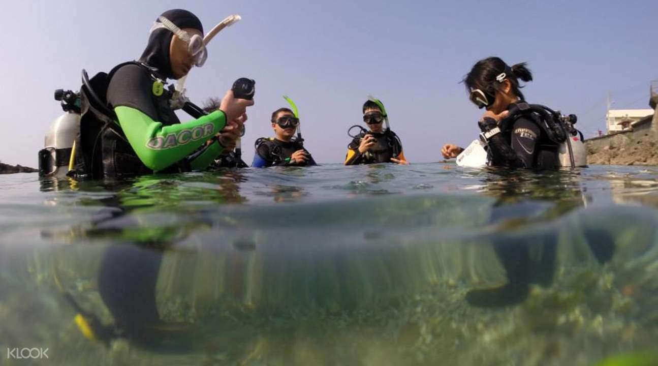 绿岛潜水推荐