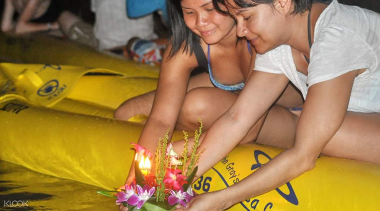 泰国水灯节