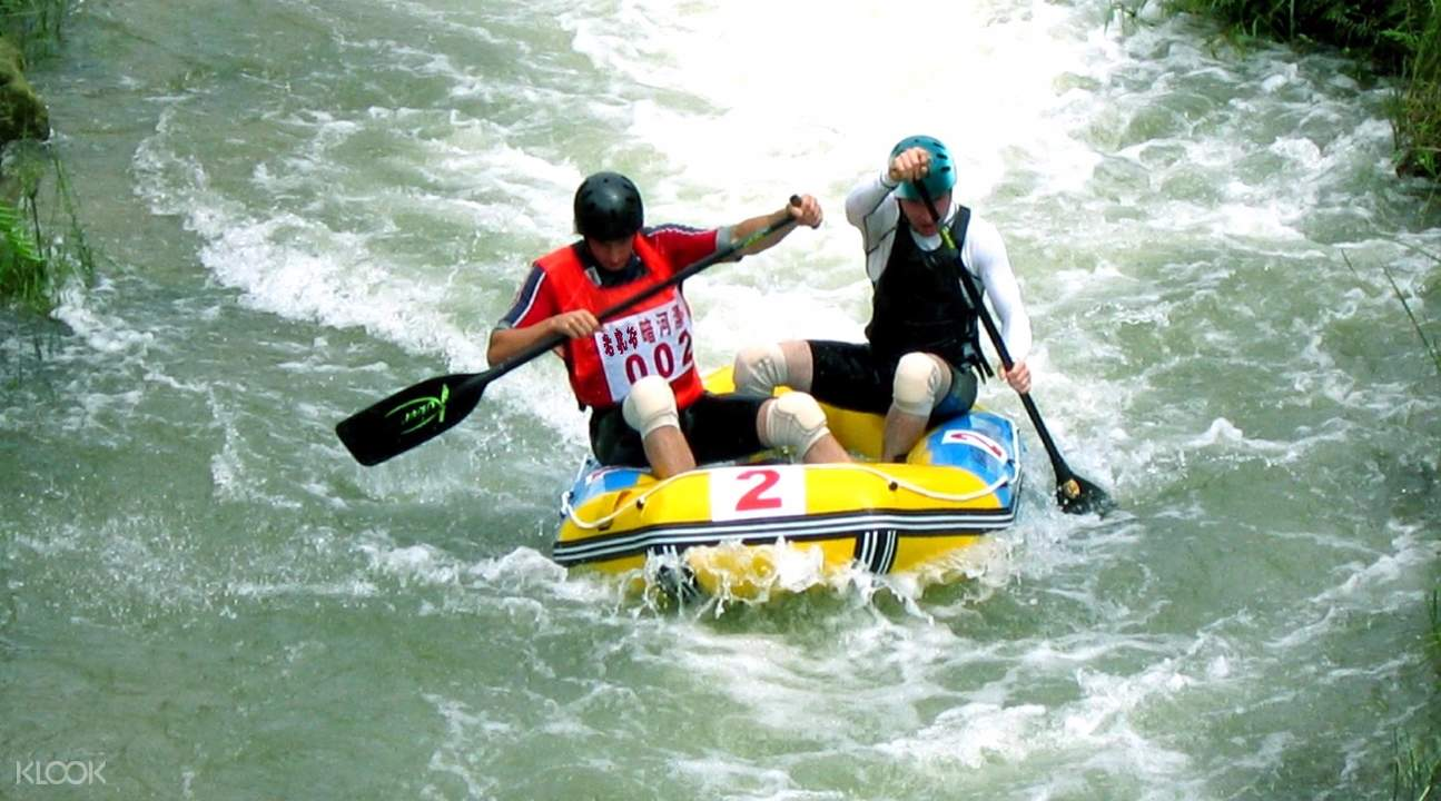 river rafting in china, tiger valley river rafting guangdong, best rafting places in china, whitewater rafting guangdong