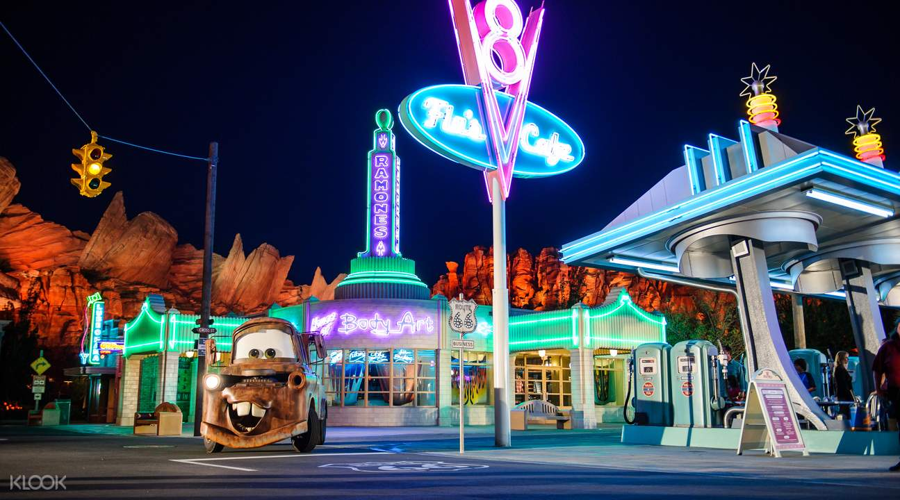 Disney Pixar Cars California Adventure