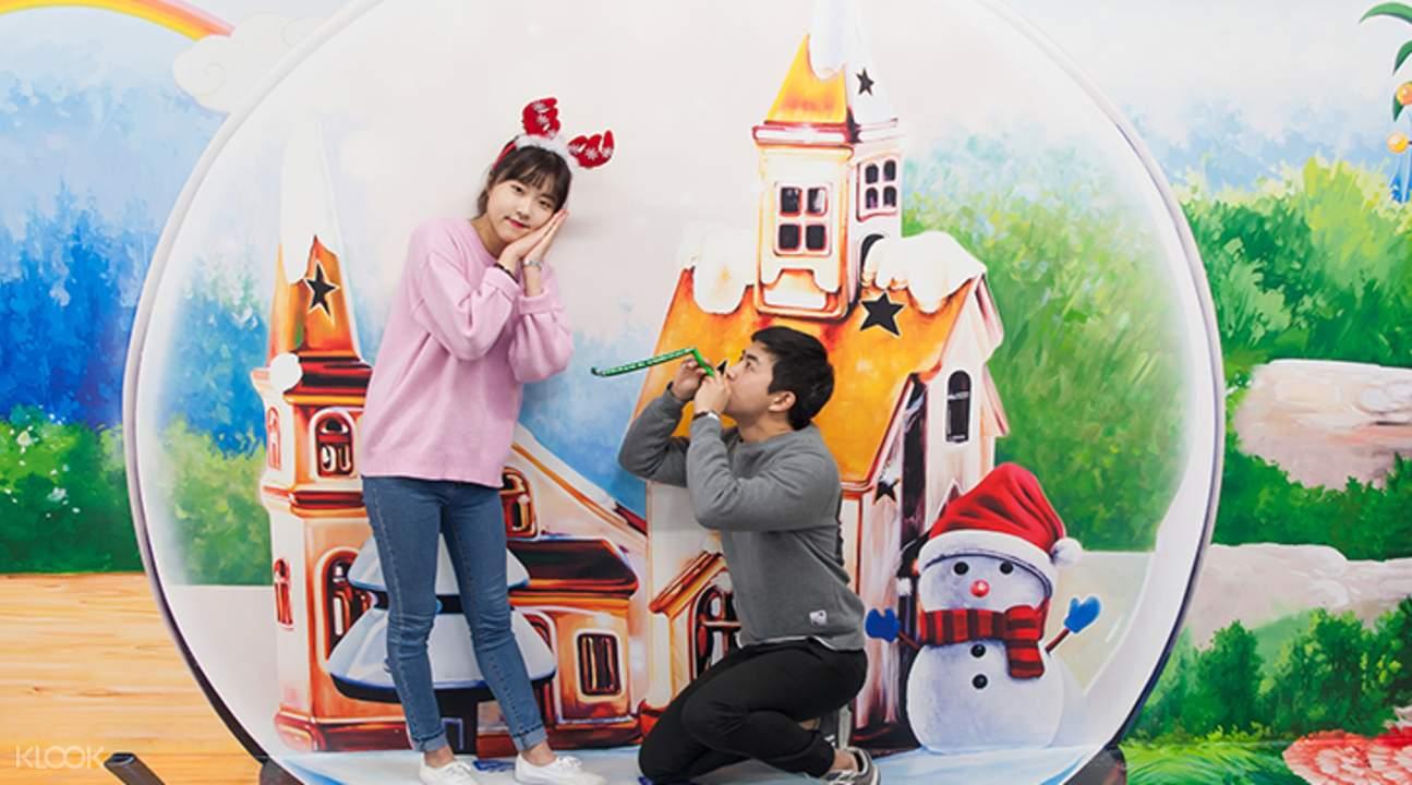 3d Trick Eye Museum In Busan Korea Klook Tiket Trickeye Singapore
