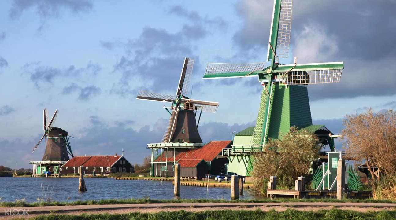 阿姆斯特丹風車一日遊