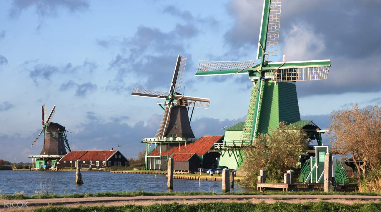 Where to see windmills in Amsterdam