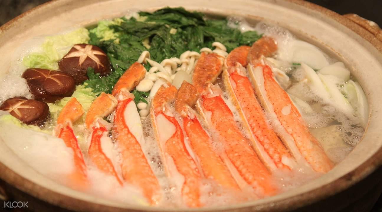 螃蟹鍋物料理