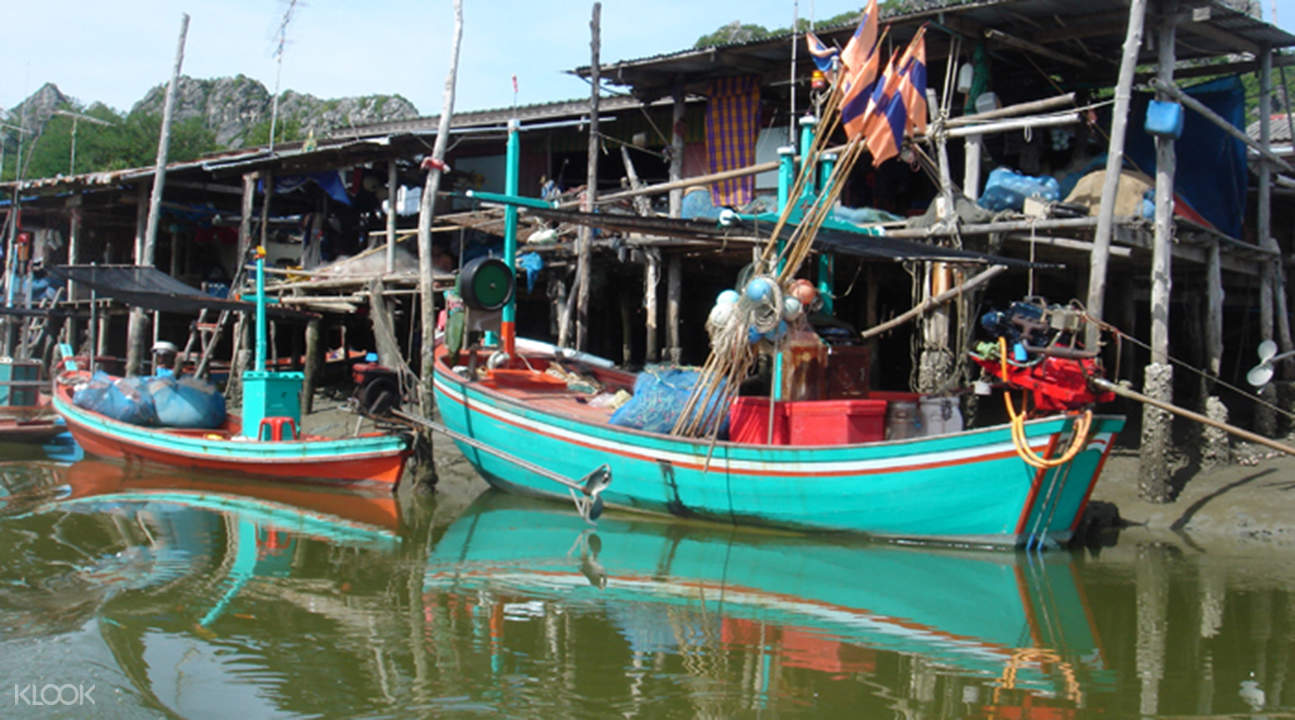 bang pu fishing village