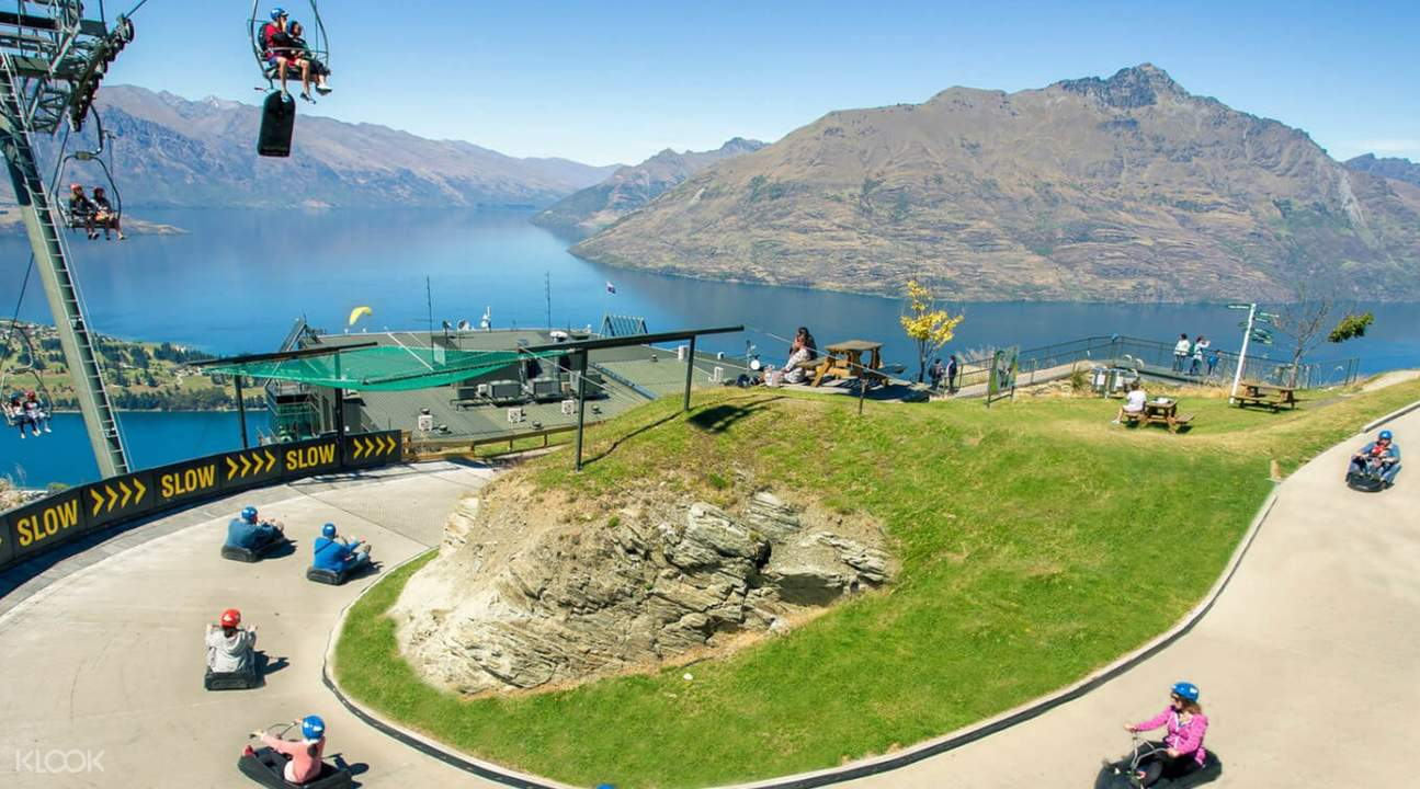 luge route in queenstown