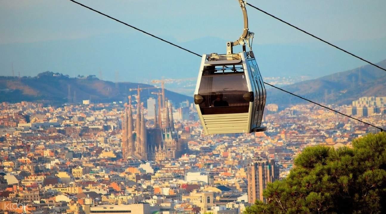 cable car barcelona