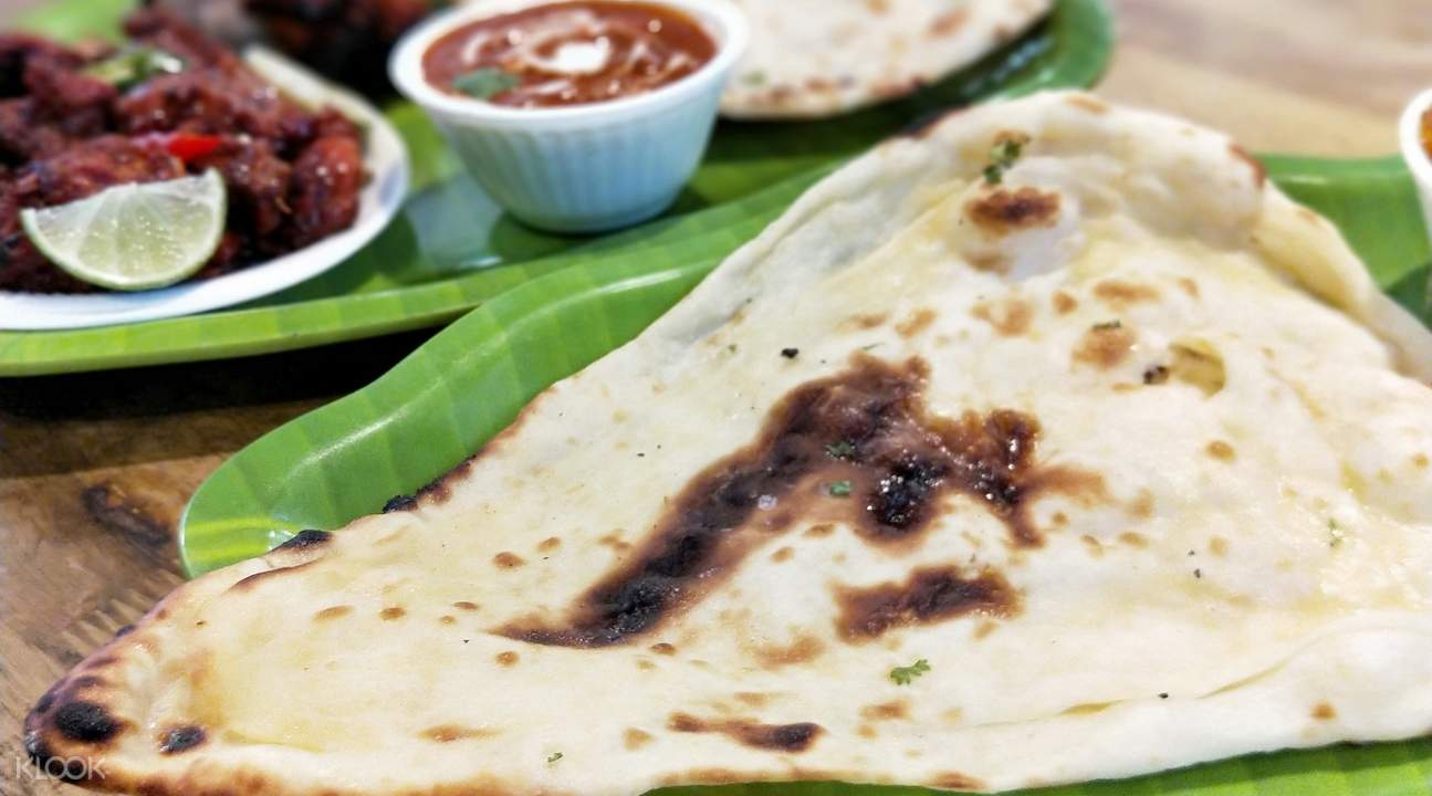 indian classic cuisine as lau pa sat singapore