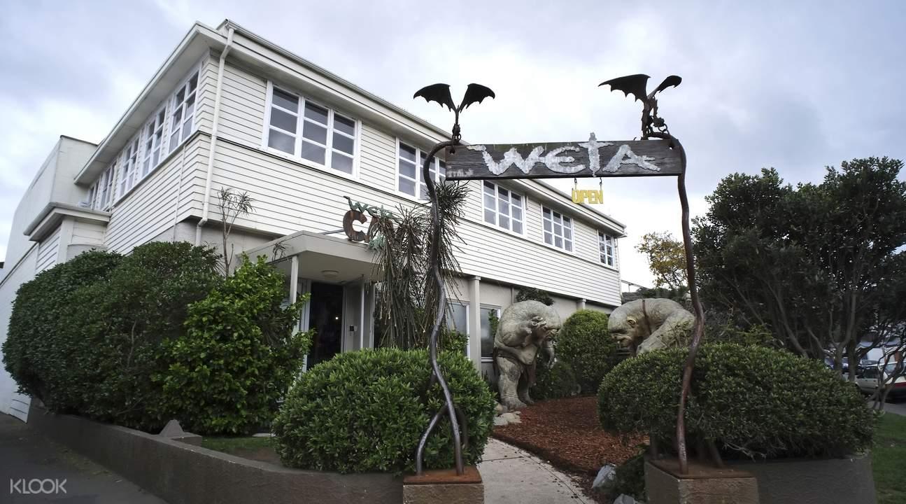 weta workshop entrance