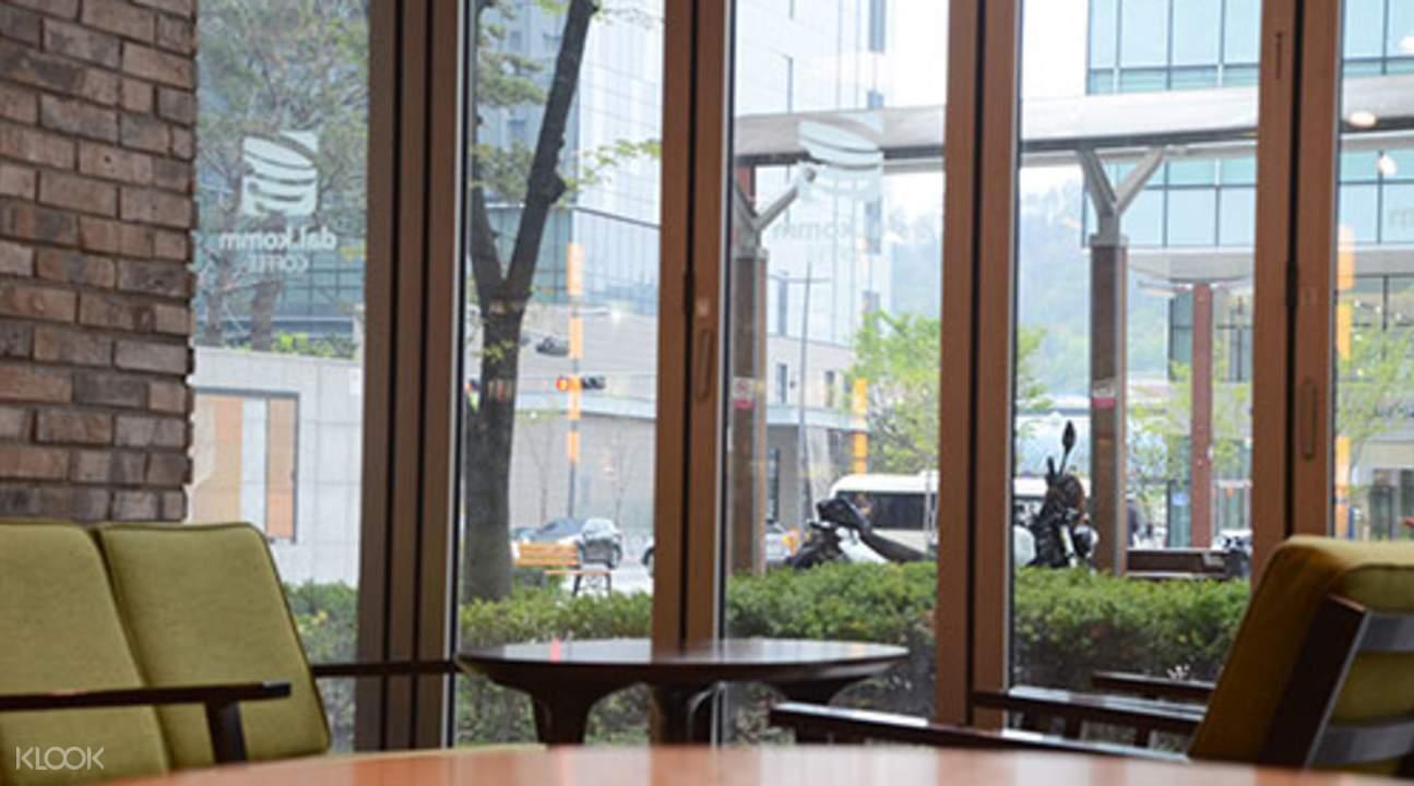 盆唐咖啡厅