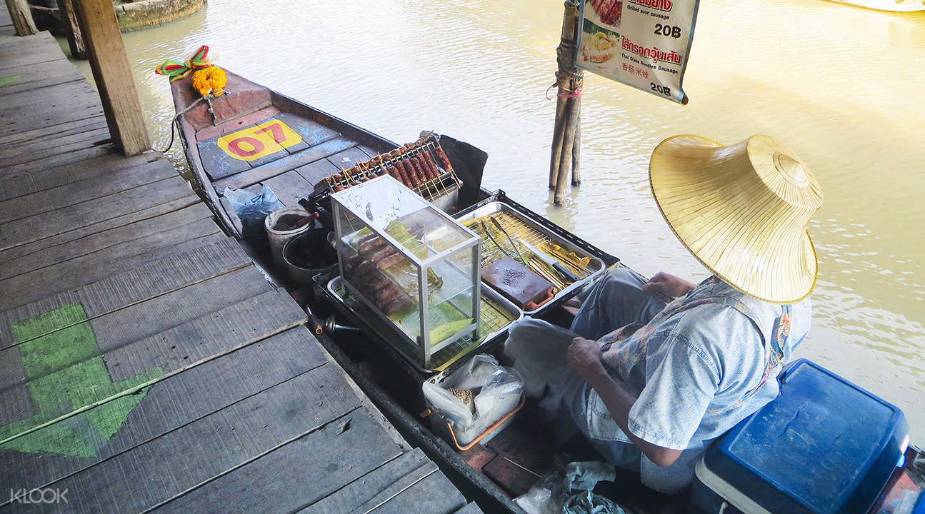 芭堤雅水上市場小吃