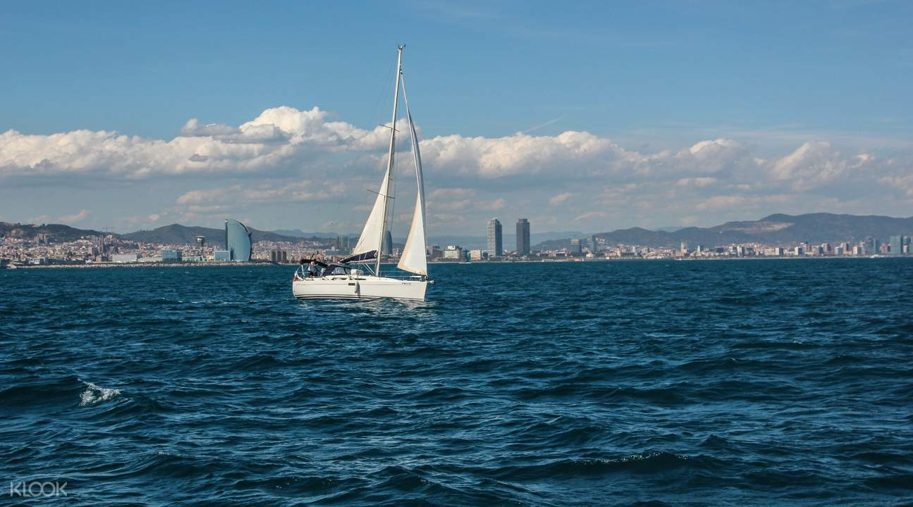巴賽隆納遊船觀光,巴塞羅那帆船觀光,巴塞羅那帆船遊,巴塞羅那海上之旅,巴塞羅那地中海觀光