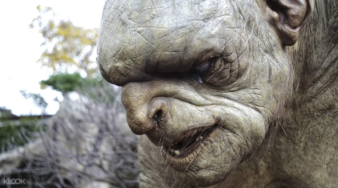 weta workshop prop the hobbit trolls