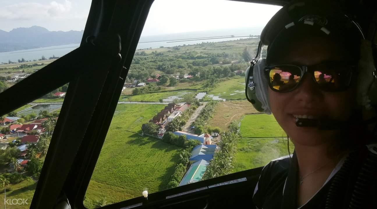 马来自亚 兰卡威直升机