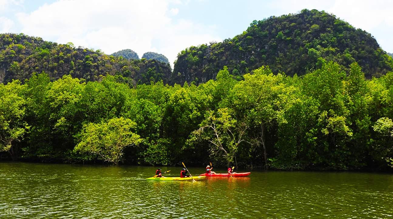 phang nag bay canoe