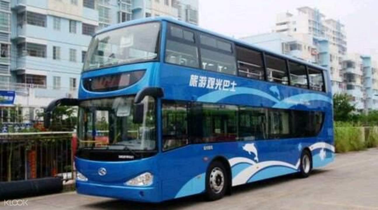 xiamen tour bus