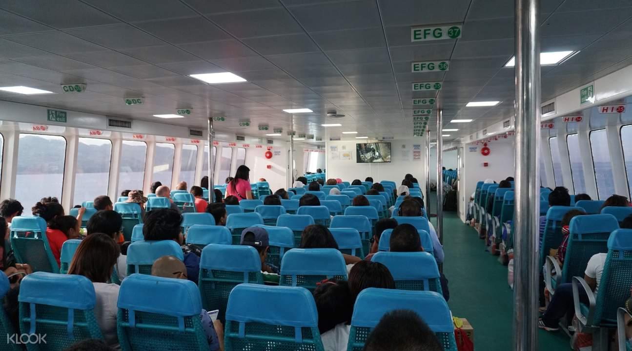 tourist class oceanjet ferry